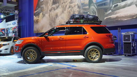 2015 Ford Explorer Sport | '15 Ford Explorer Sport by All Star Performance - Side Profile