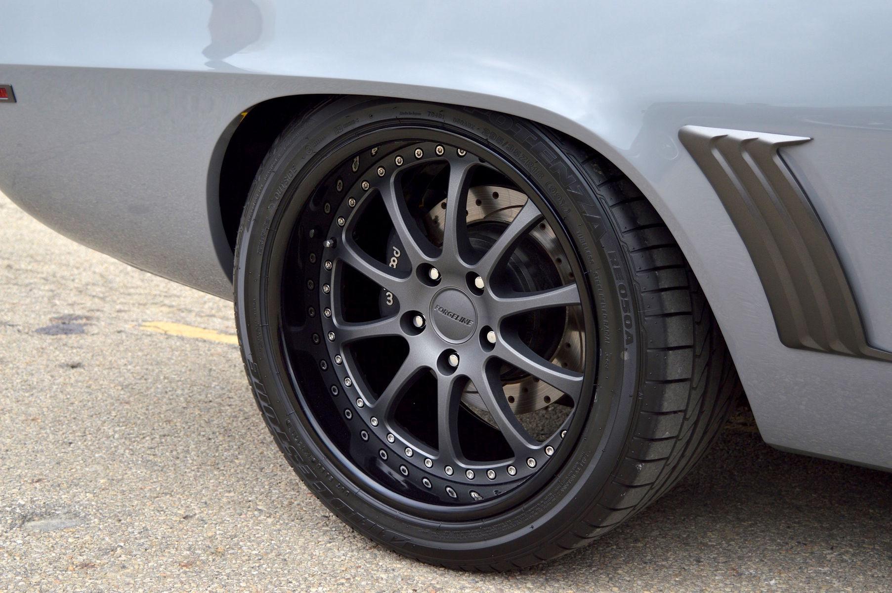 1969 Chevrolet Camaro   Kip Murphy's Wraith 1969 Camaro on Forgeline ZX3P Wheels - Close Up Wheel Shot