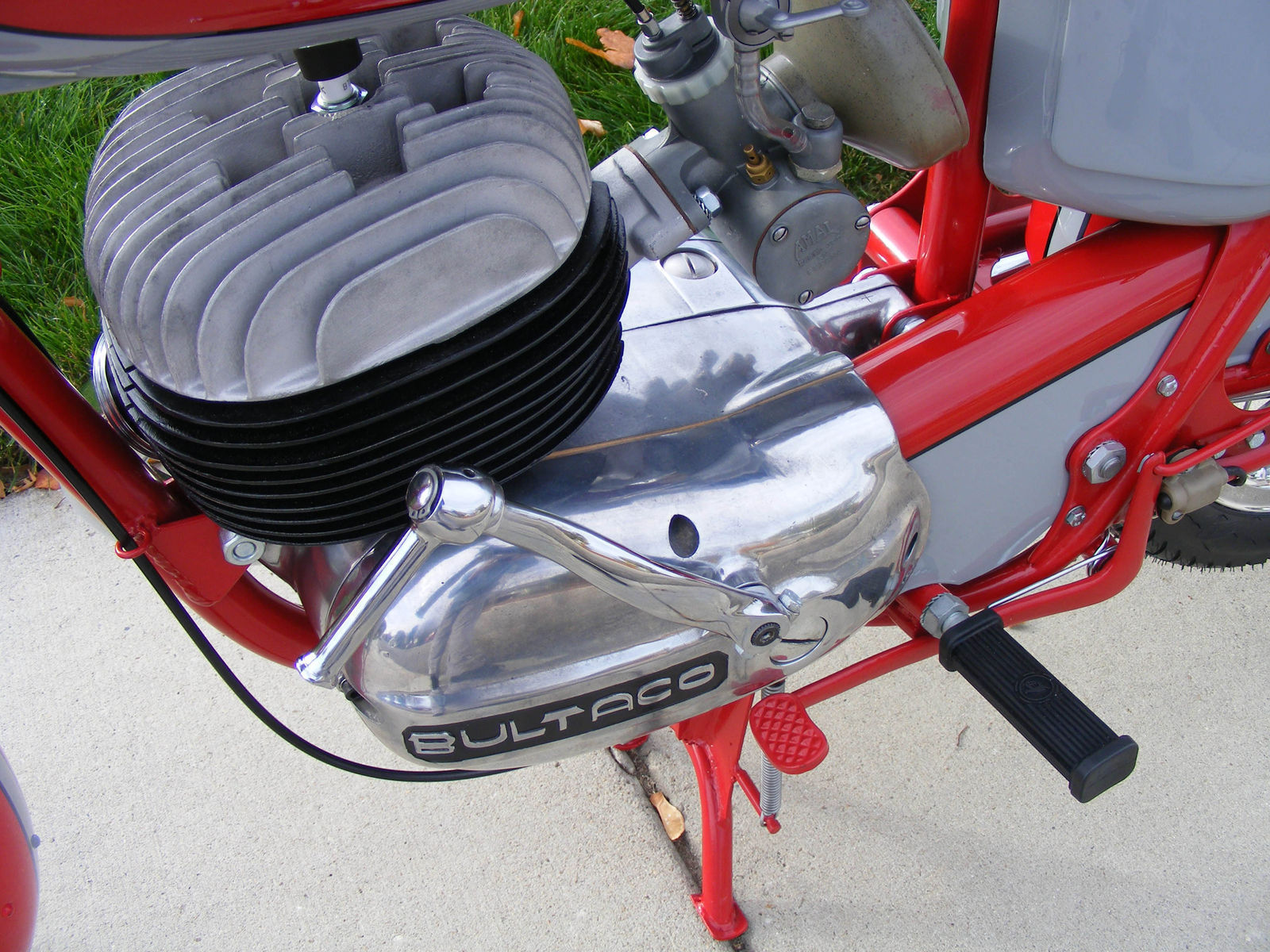 1966 Bultaco Mercurio   1966 Bultaco Mercurio 200 restoration