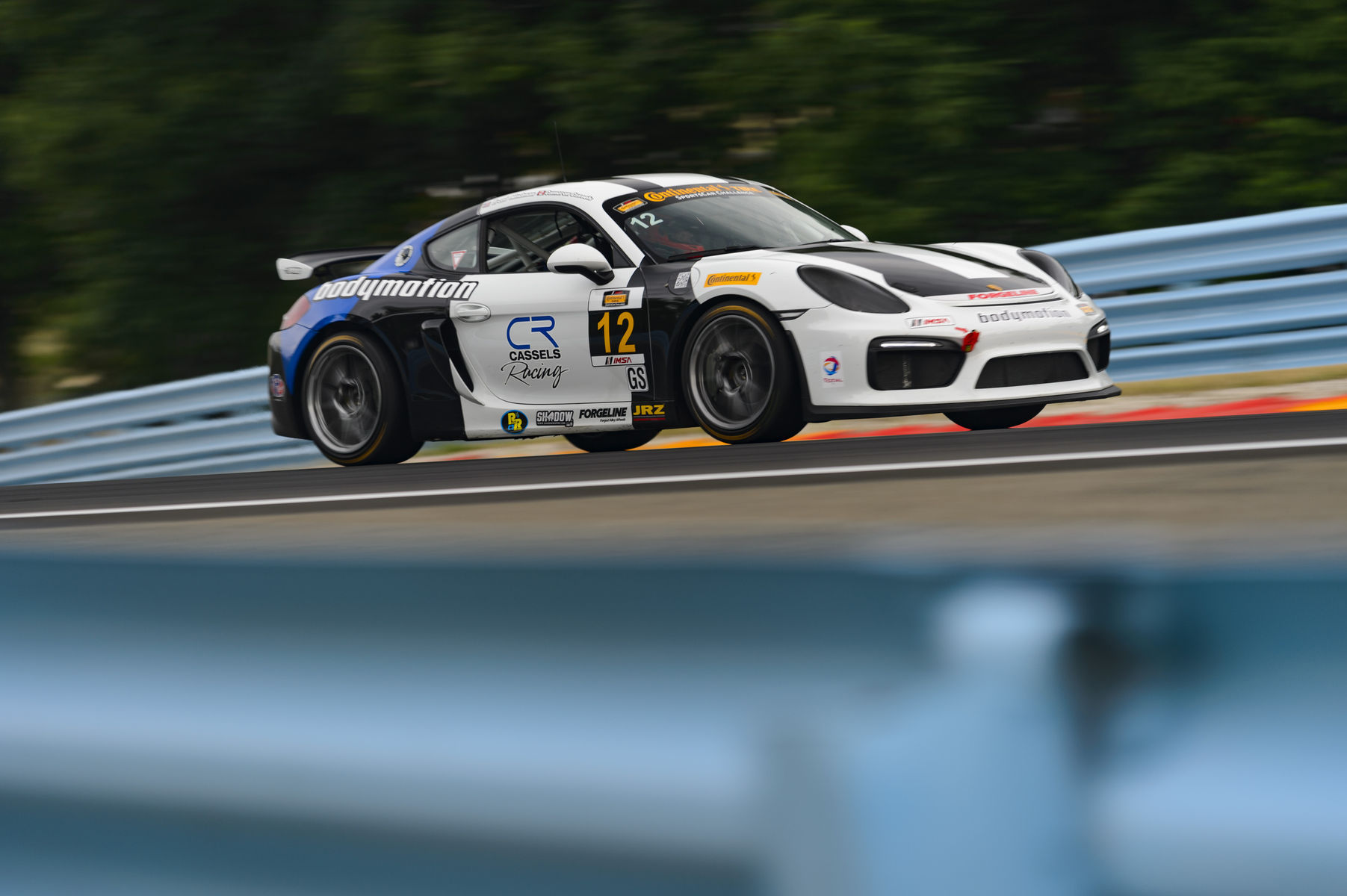 2015   | Forgeline-Equipped Porsche Caymans Sweep IMSA CTSC GS at Watkins Glen