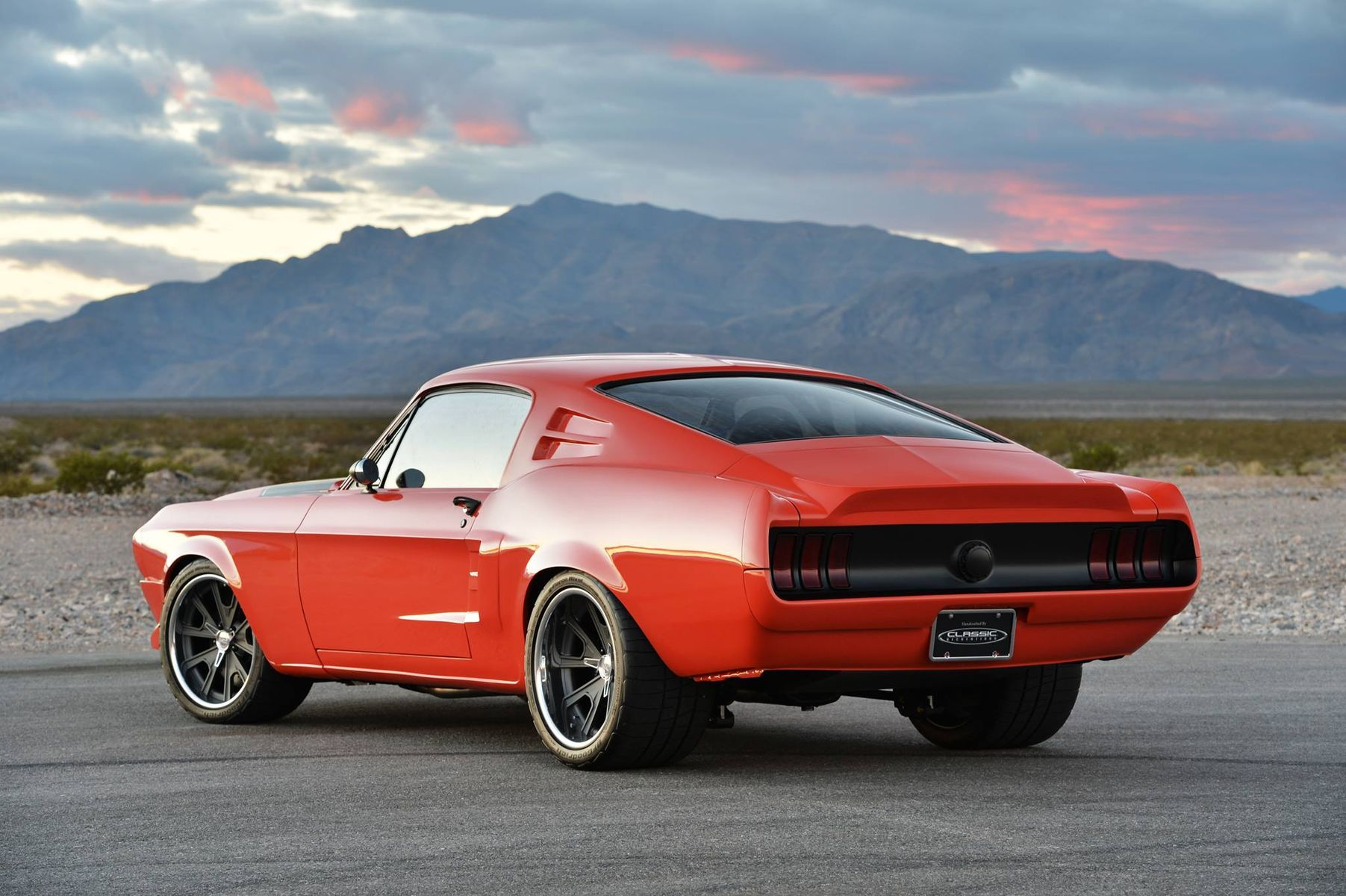 1968 Ford Mustang | Villain Mustang on Grip Equipped Grudge Wheels