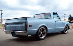 Randy Johnson's D&Z Customs 1968 Chevy C10 Shop Truck on Forgeline Heritage Series CR3 Wheels