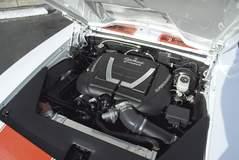 '69 Camaro under the hood