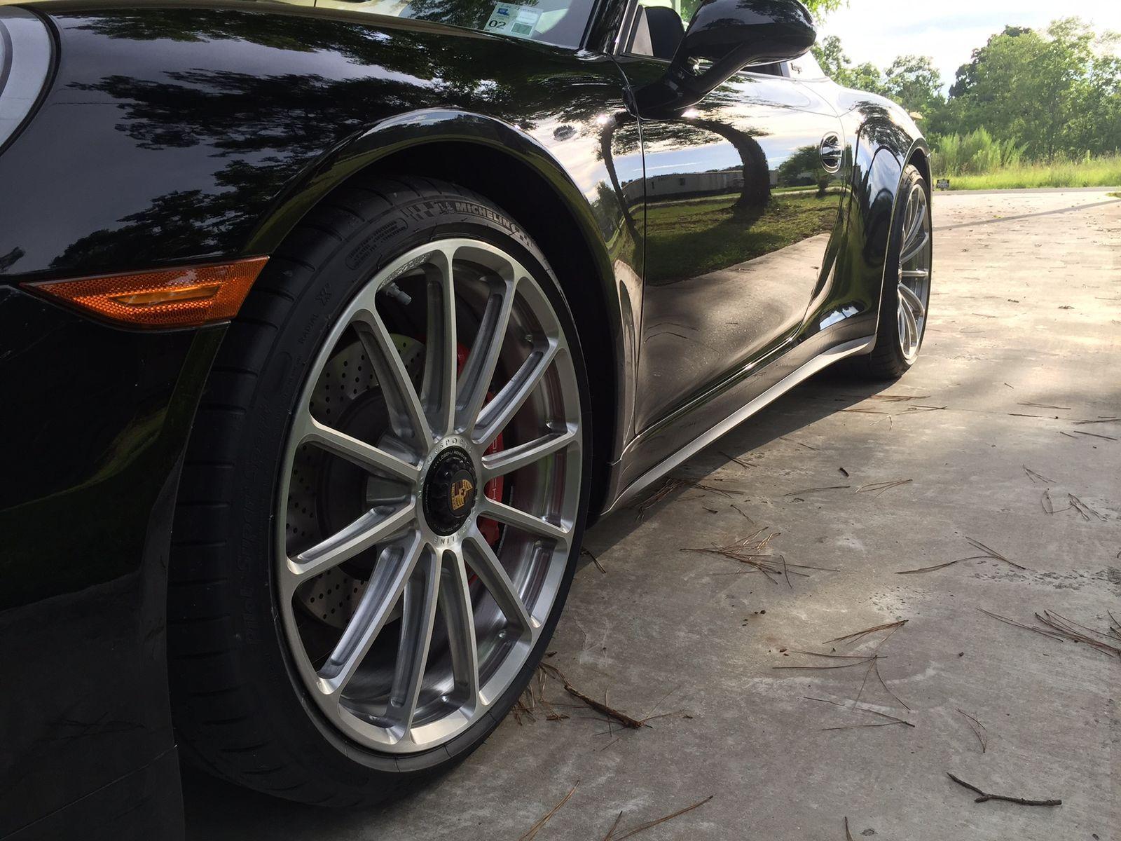 2016 Porsche 911 | Jim Brown's Porsche 991 Targa on Forgeline One Piece Forged Monoblock GT1 Wheels
