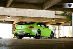 Green BMW 6 Series - Stance