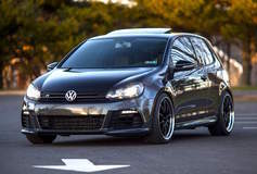VW Golf R on Forgeline ZX3R Wheels