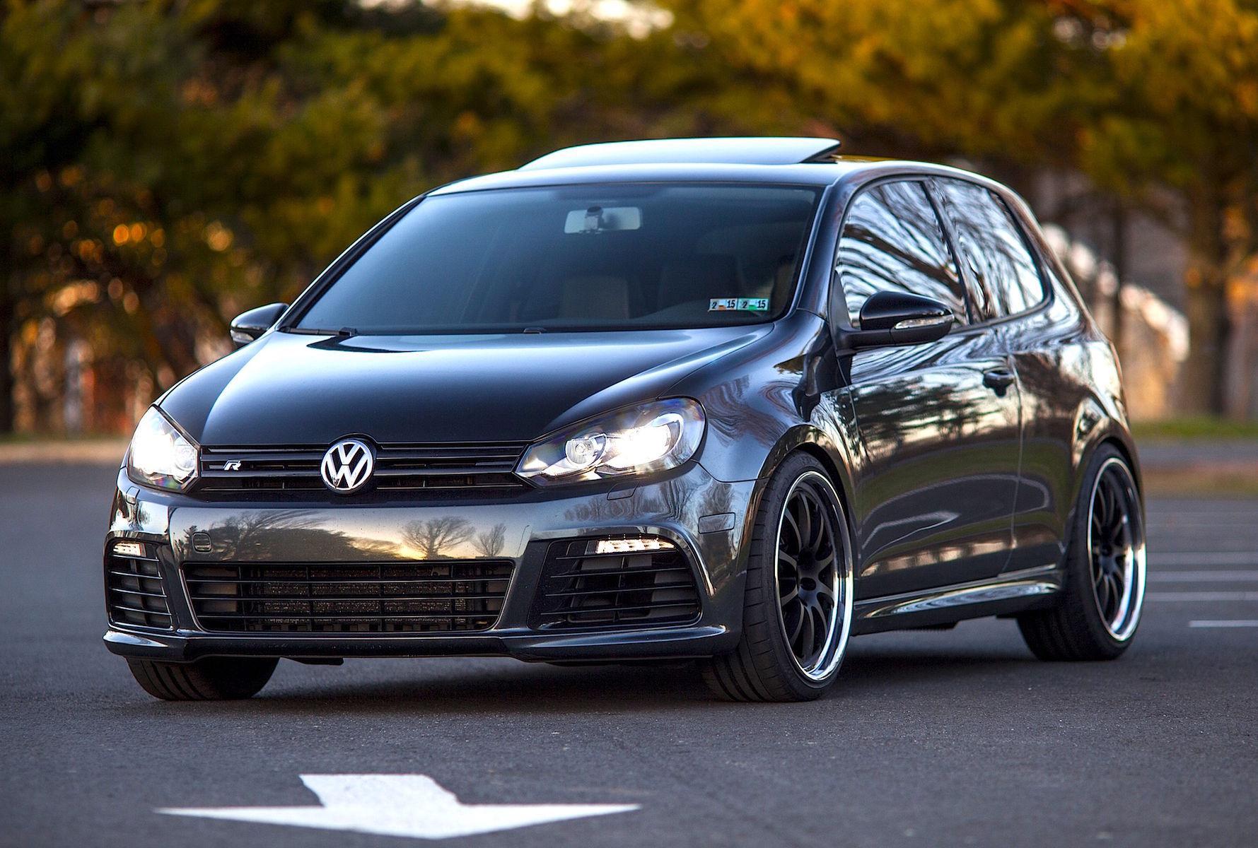 2012 Volkswagen Golf R | VW Golf R on Forgeline ZX3R Wheels