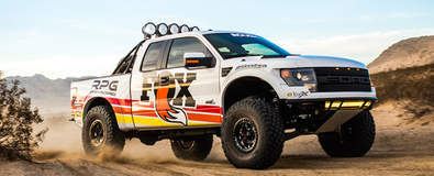 Fox RPG Off-Road Raptor - Kicking Sand