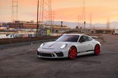 Josh Shokri's Porsche 991.2 GT3 on Forgeline One Piece Forged Monoblock VX1R Wheels