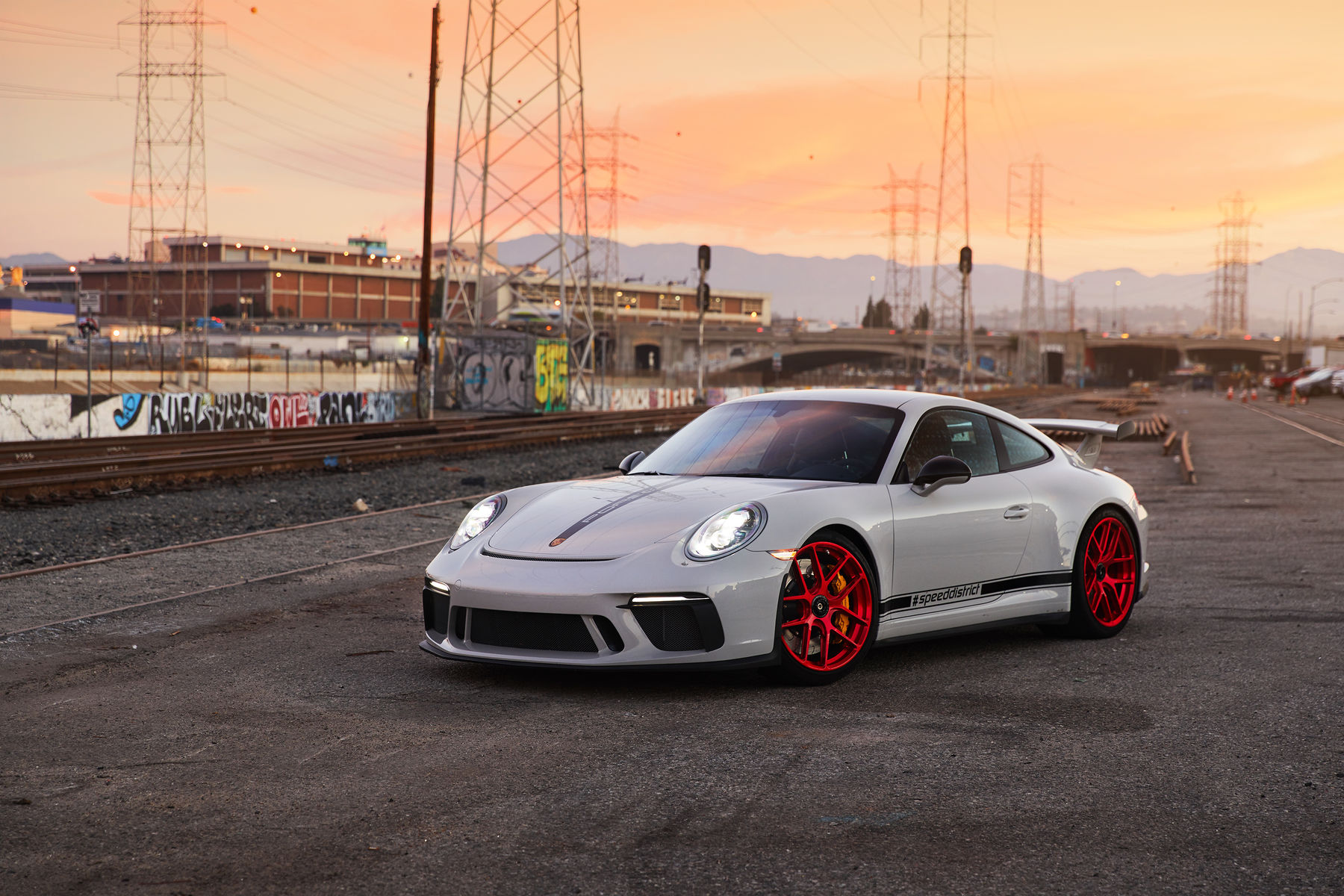 2018 Porsche 911 | Josh Shokri's Porsche 991.2 GT3 on Forgeline One Piece Forged Monoblock VX1R Wheels