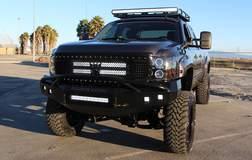 Chevy Silverado build with Rigid Industries lights