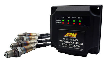 4-Channel Wideband UEGO Controller