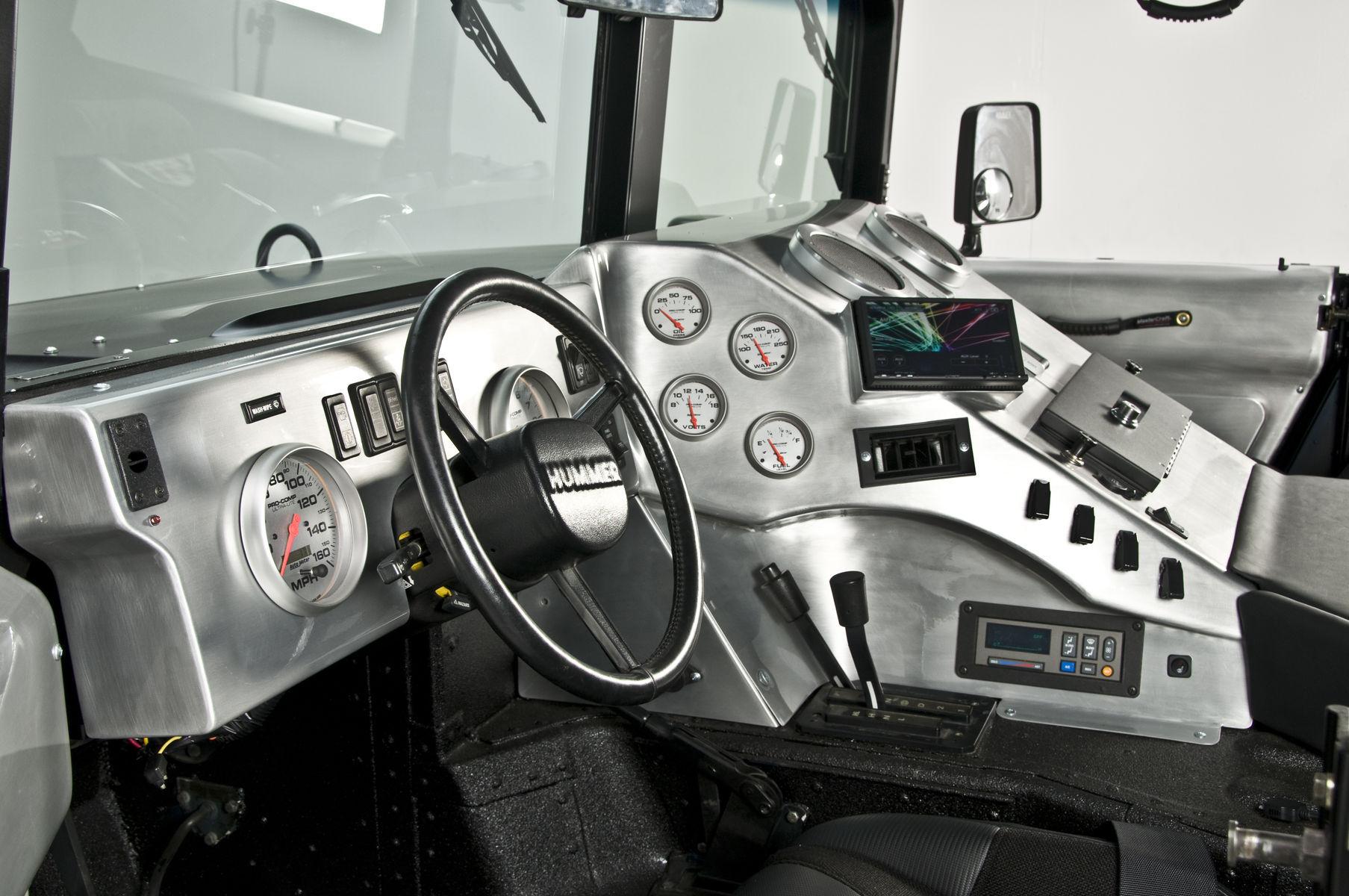 2006 HUMMER H1 | RCH Designs Custom Built Hummer H1 - Custom Interior