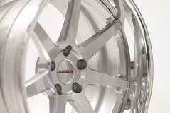 Forgeline CV3C in Silver & Polished