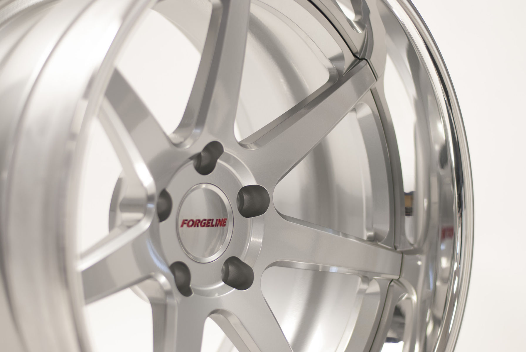 | Forgeline CV3C in Silver & Polished