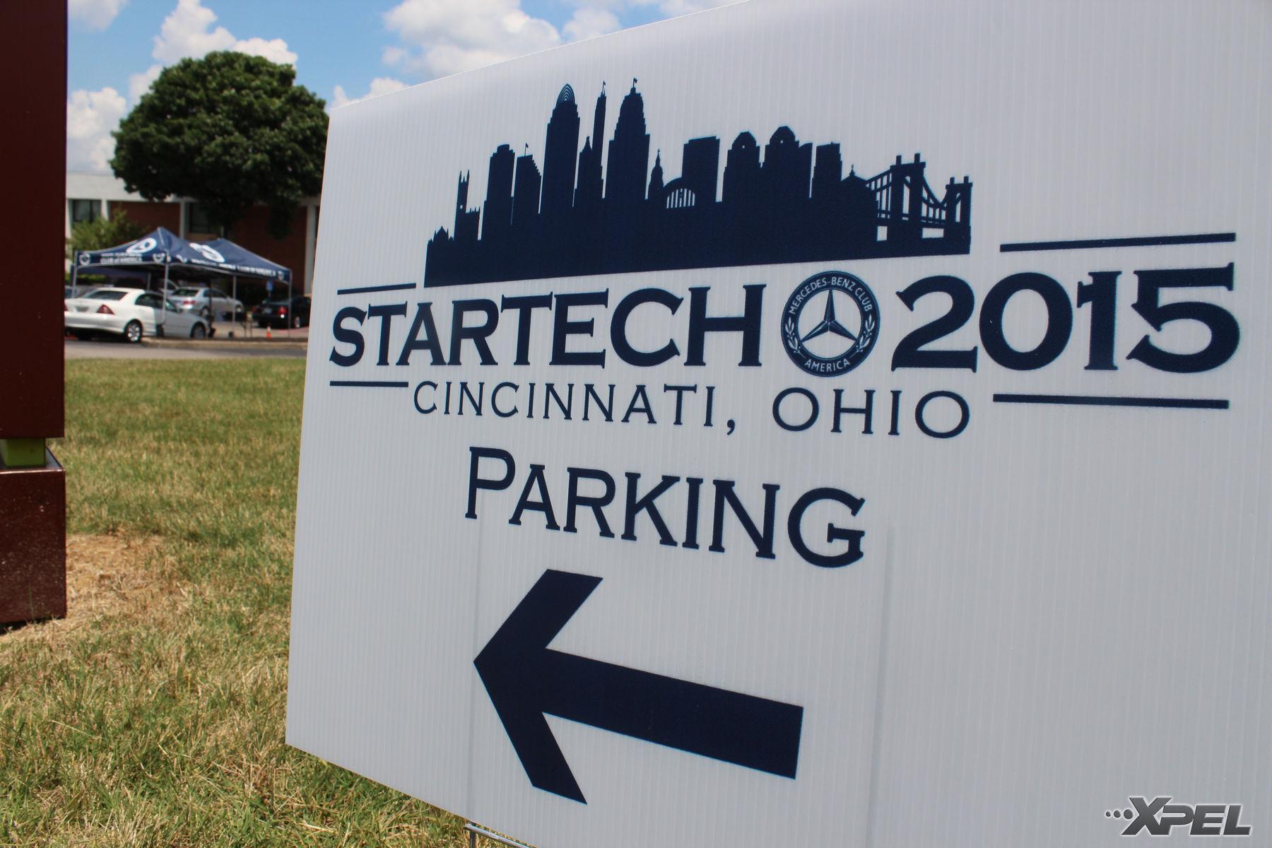 Mercedes-Benz  | Parking direction for StarTech