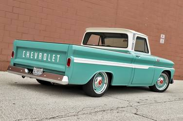 1965 Chevrolet C-10 | George Poteet's Roadster Shop 1965 Chevy C10 on Forgeline RS-OE1 Wheels