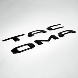 2016 Toyota Tacoma | 2016 Toyota Tacoma Tailgate Gloss Black Logo Insert