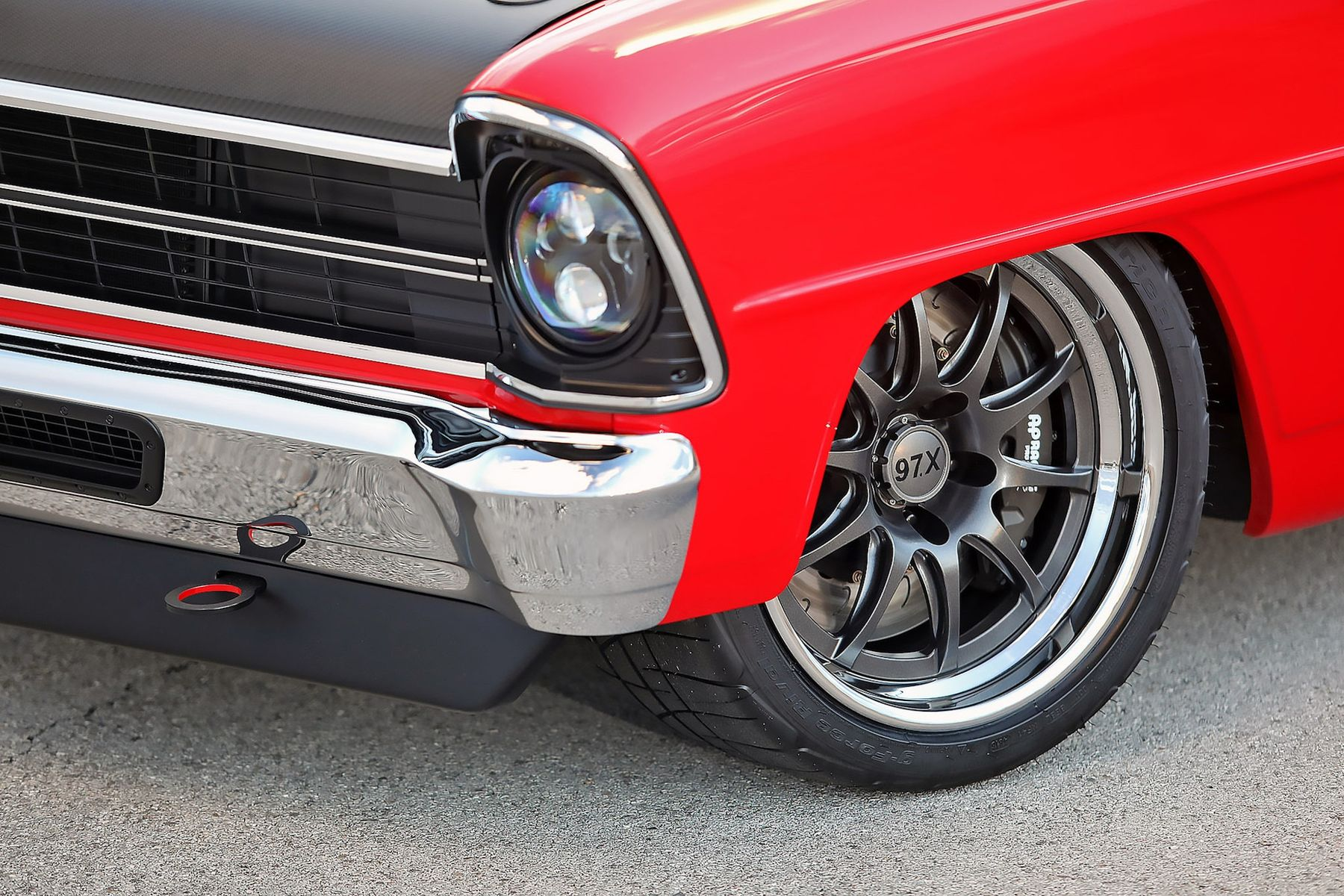 1967 Chevrolet Nova | Bob Gawlik's Detroit Speed '67 Chevy II on Forgeline GZ3R Wheels