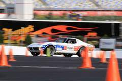 Ryan Mathews is Pro Class Autocross Winner at Goodguys Charlotte with Detroit Speed's '72 Corvette on Forgeline GA3 Wheels
