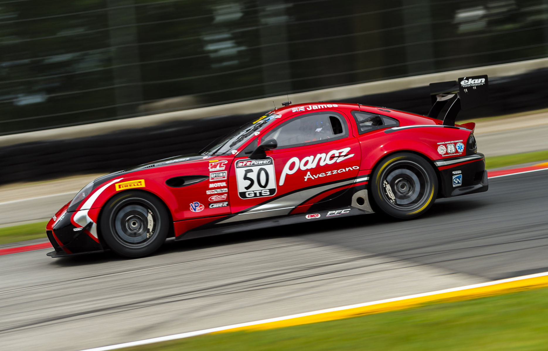 2017 Panoz  | Forgeline Teams Dominate Front Row at Pirelli World Challenge Road America