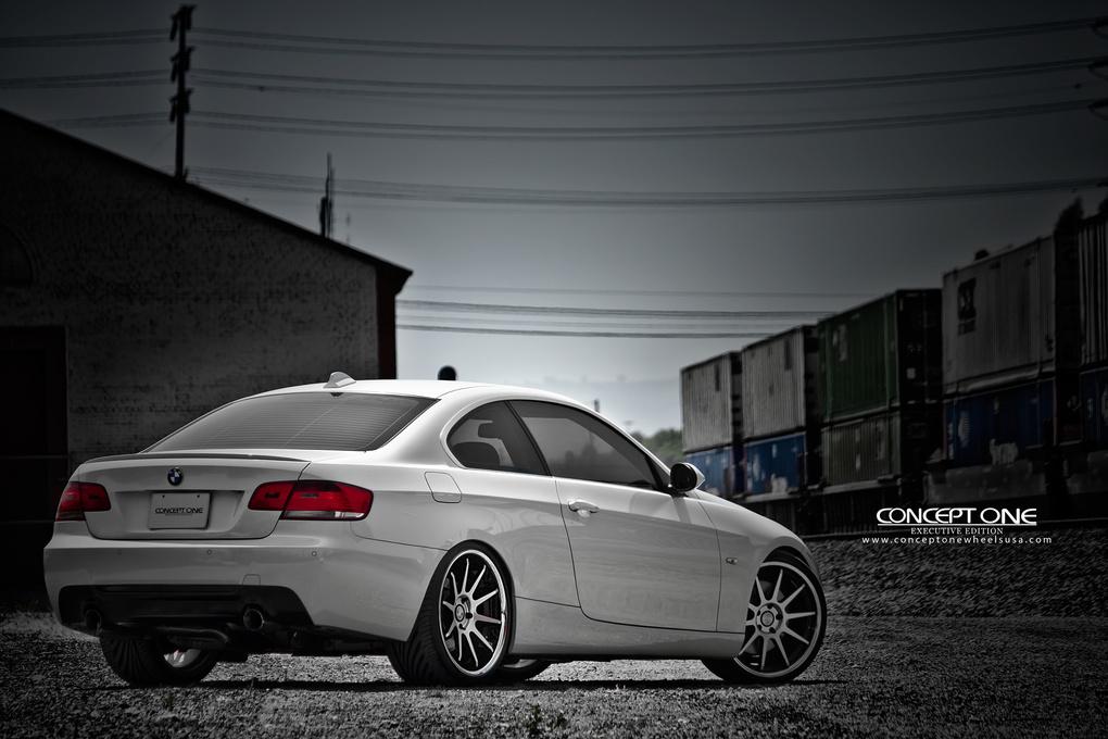2012 BMW 3 Series   '12 BMW 335i on Concept One CS10's