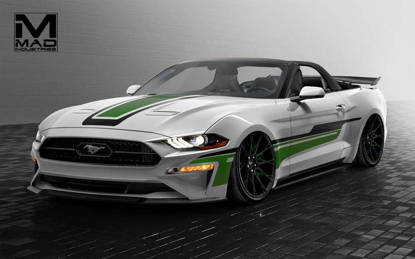 2018 Ford Mustang Ecoboost Convertible By Mad Industries