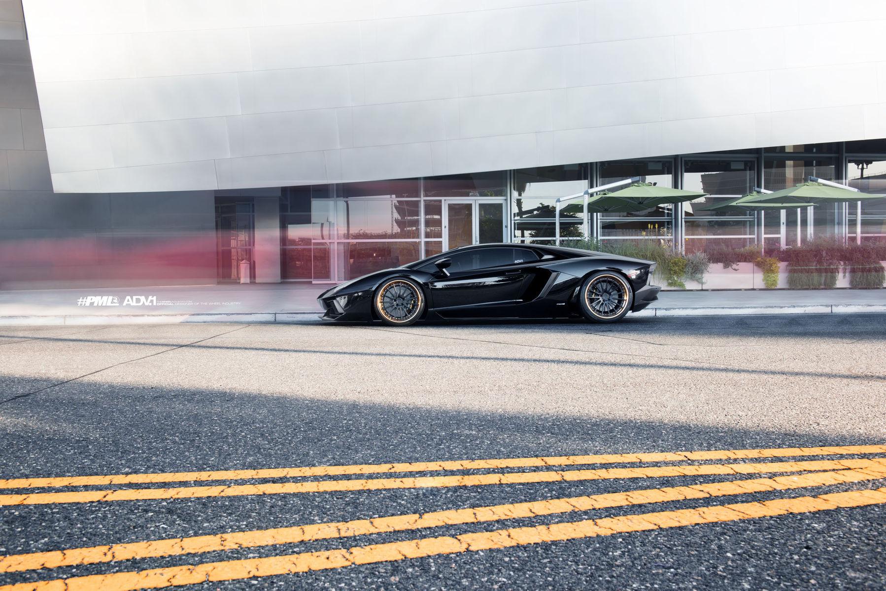 Lamborghini Aventador | Ben Baller's ADV.1 Wheels Lamborghini Aventador by Platinum Motorsport