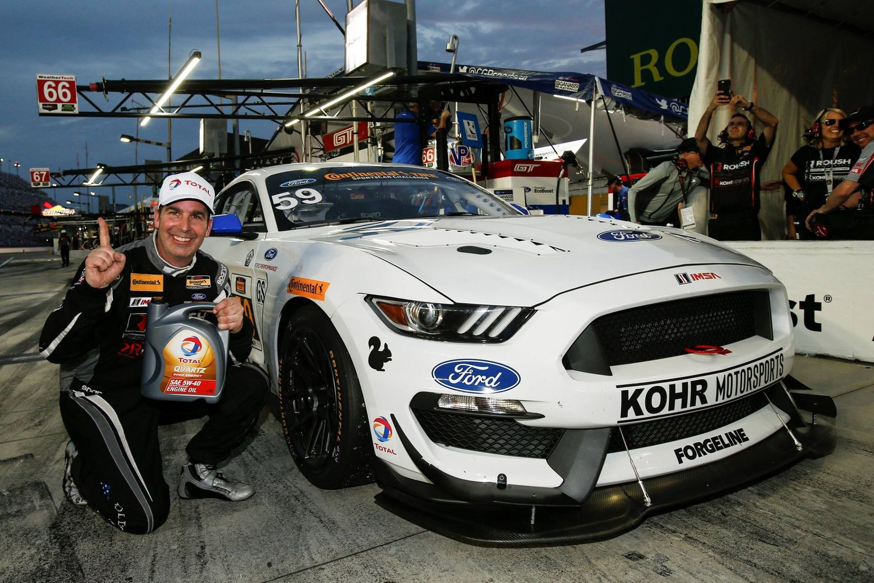 2017 Ford Mustang | Forgeline Teams on the Pole at Daytona