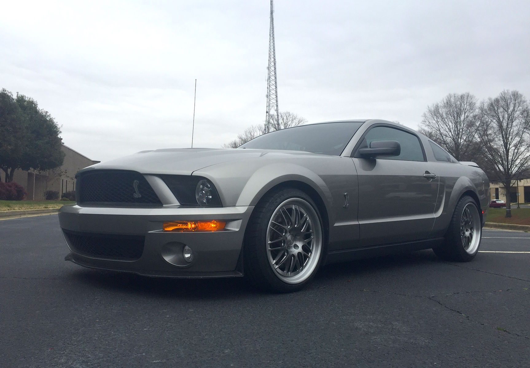 2009 Ford Shelby GT500   S197 Ford Mustang Shelby GT500 on Forgeline GX3 Wheels