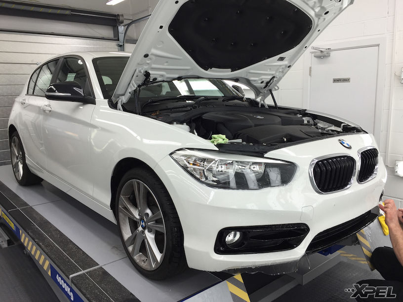 BMW 1 Series | XPEL ULTIMATE paint protection film applied for ultimate protection