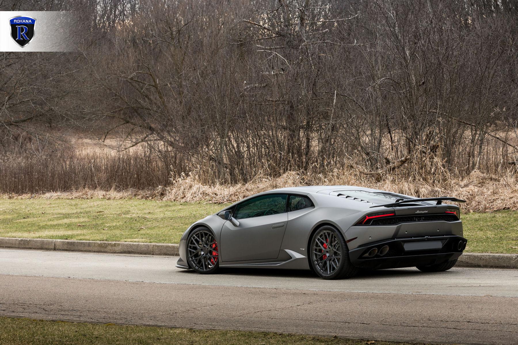 2016 Lamborghini Huracan | Matte Huracan - Side View