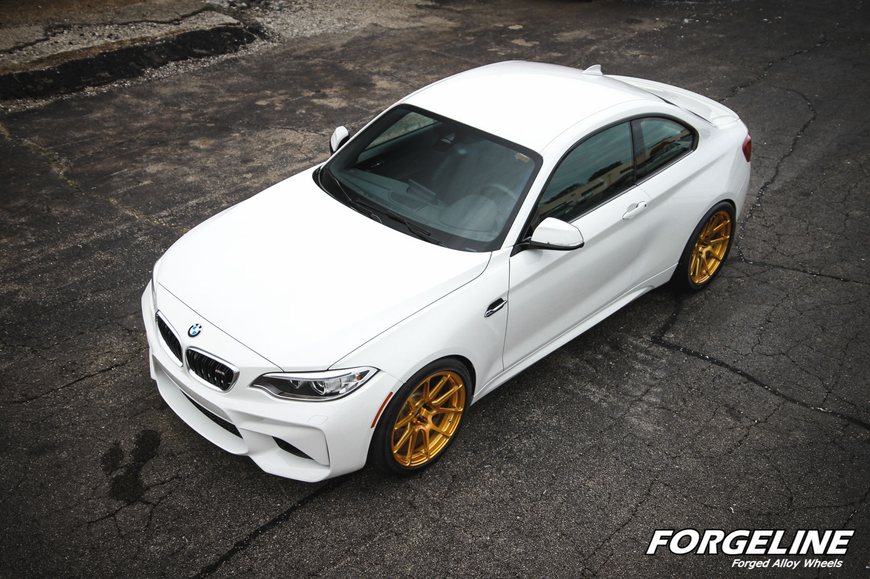 2016 BMW M2 | Taylor McGohan's BMW F87 M2 on Forgeline One Piece Forged Monoblock GA1R Open Lug Wheels