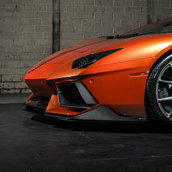 Aventador-V Front Splitters