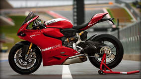 Ducati 1199 Panigale R - Sitting