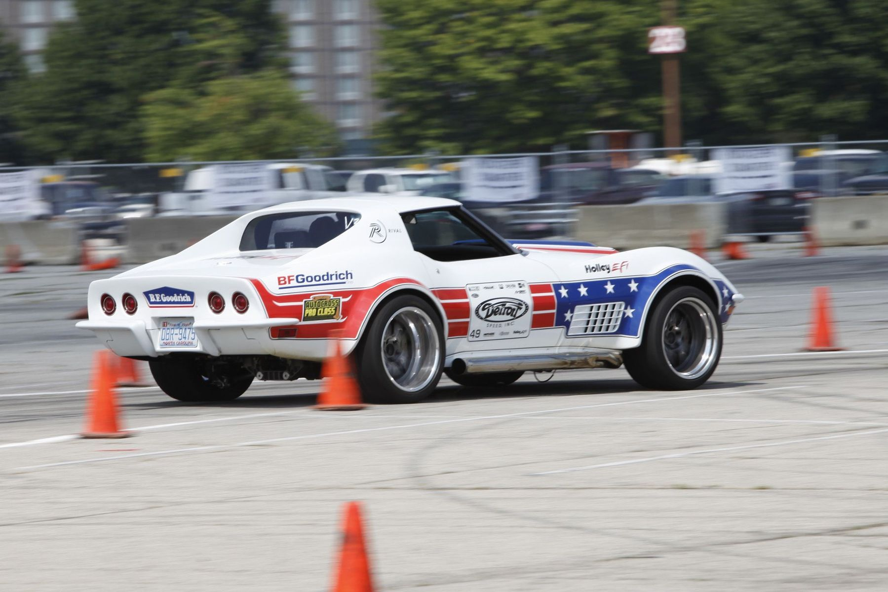 1972 Chevrolet Corvette Stingray | Ryan Mathews Wins NSRA Nationals Autocross in the Detroit Speed C3 Corvette on Forgeline GA3 Wheels