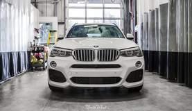 BMW X3 M Sport with XPEL Clear Bra