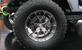 """Jeep Wrangler """"4Speed"""" Concept on Forgeline One Piece Forged Monoblock VX1 Wheels"""