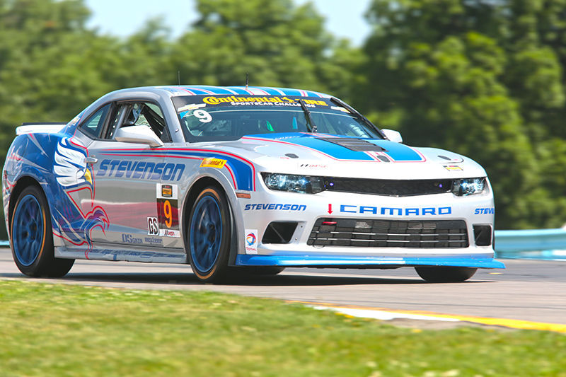 2014 Chevrolet Camaro | The Stevenson Motorsports Camaro Z/28.R on Forgeline One Piece Forged Monoblock GS1R Wheels at Watkins Glen
