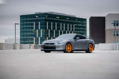 Gray Nissan GTR - Driver Side Photograph