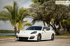 """'14 Porsche Panamera on 22"""" Savini SV51's"""