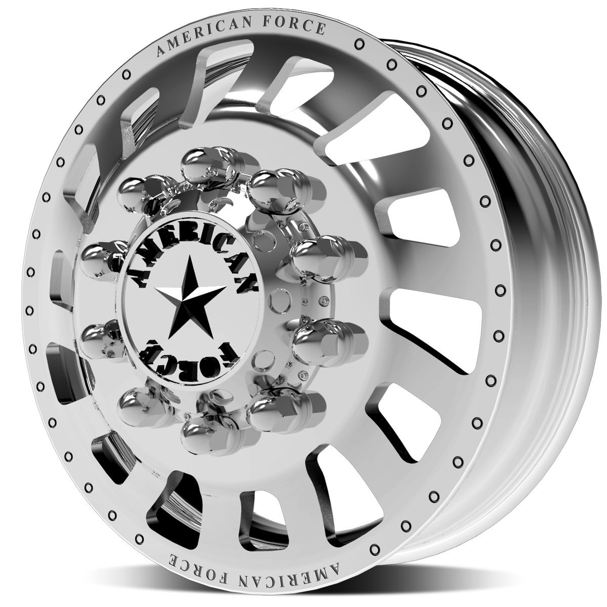 | Dually Wheel - Zink - Front
