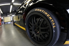 Up close and personal with our favorite item at the track, Continental Tires